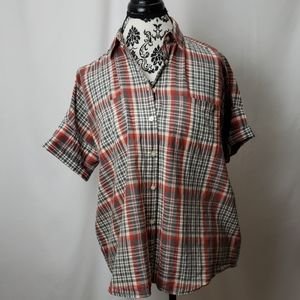 Madewell casual button down blouse